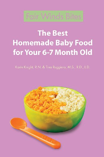 The Best Homemade Baby Food For Your 6-7 Month Old