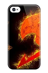 iphone covers 4/4s Scratch-proof Protection Case Cover For Iphone/ Hot Grey Fairy Tail Phone Case