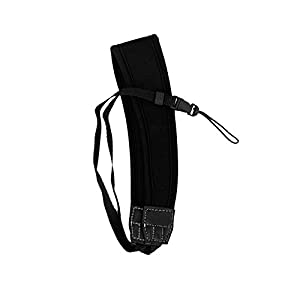 Neoprene Neck and Wrist Camera Strap Kit with Quick Release for Point & Shoot and Pocket Cameras + eCostConnection Microfiber Cloth by eCostConnection
