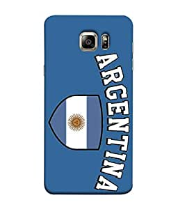 ColorKing Football Argentina 13 Blue shell case cover for Samsung Note 5