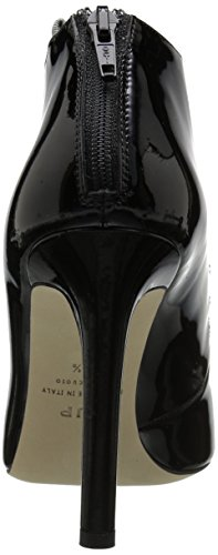 Black by Donna Revere Nero Parker Patent Sarah SJP Jessica Stivali 8aqpqv
