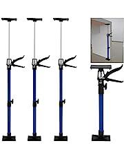 Deuba Deurspanner in 3-delige set traploos in hoogte verstelbaar 50-115 cm tot 45 ° deurhouder deurkozijn kozijnspanner