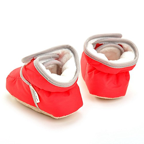 Pictures of Enteer Infant Waterproof Snow Boots Premium Soft 5