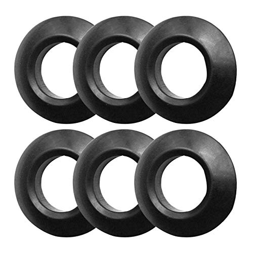 Gimiton 6Pc Kayak Paddle Drip Rings, Rubber Canoe Paddle Drip Ring, Universal Fit Your Kayak Paddle Shaft丨30mm Diameter丨Keep Hand Dry丨 Paddle Accessories Replacement