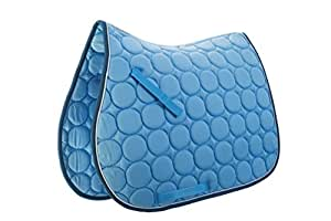 Roma Circle Quilt Pads FULL Blue/White/Denim
