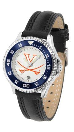Virginia Cavaliers Competitor Ladies Watch with Leather Band (Virginia Watch Competitor)
