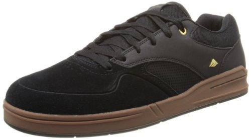 Emerica THE HERITIC, Sneaker uomo Nero (Black/Gum)