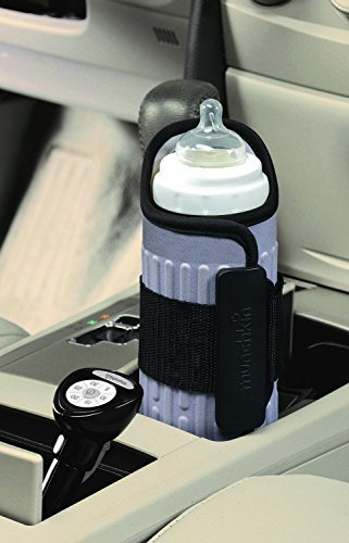 Munchkin-Travel-Bottle-Warmer-Gray-Free-Shipping-New