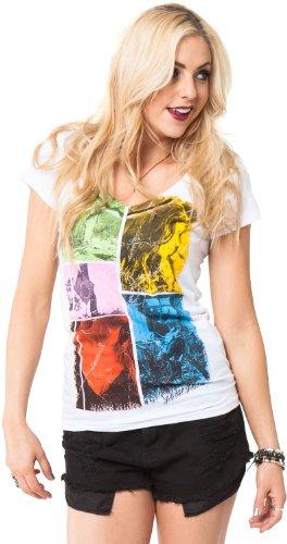 Metal Mulisha T-Shirt / Top / Tee ATTITUDE TEE Weiß