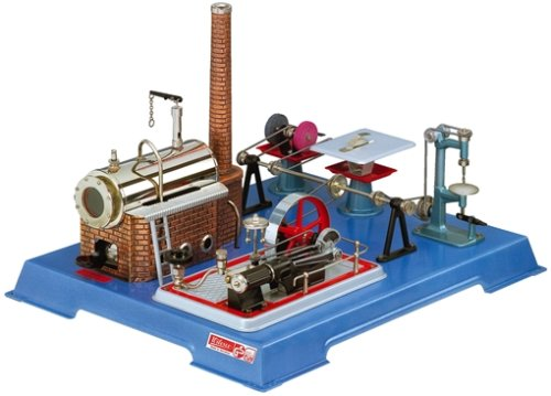 00161–Wilesco D 161–Steam Engine with Workshop