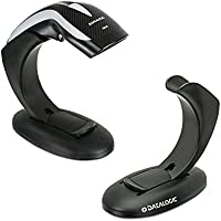 Datalogic Scanning HD3130-BKK1B Heron HD3130 USB Kit, Includes 1D Scanner, Stand and USB Cable, Black (Pack of 3)