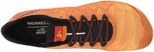 zafferano Vapor Scarpe Glove 3 da Arancio uomo da Merrell corsa fPqgnax