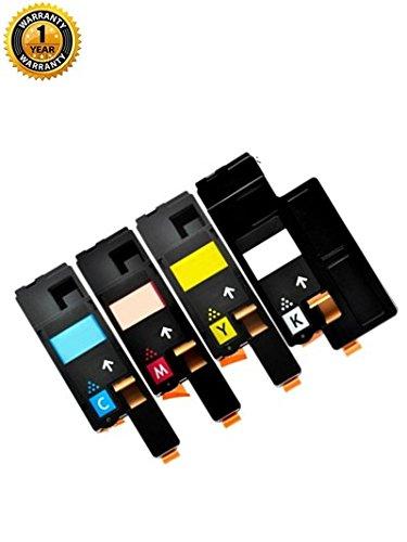 Raink 4Pack Compatible Xerox 106R01627 106R01628 106R01629 106R01630 Toner Cartridges (BK/C/Y/M) (Toner 106r01628)