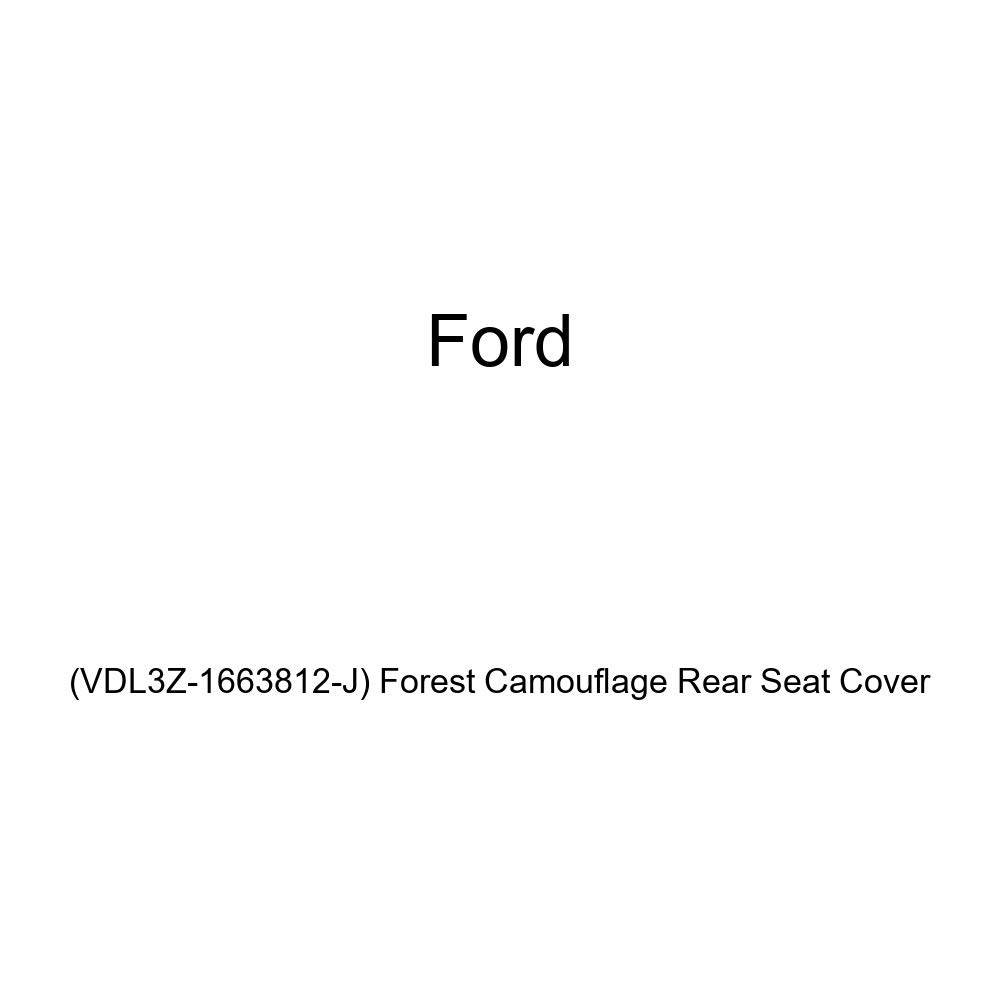 VDL3Z-1663812-J Ford Genuine Forest Camouflage Rear Seat Cover