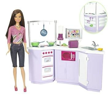 mattel l9484 poupe barbie cuisine poupee - Cuisine Barbie