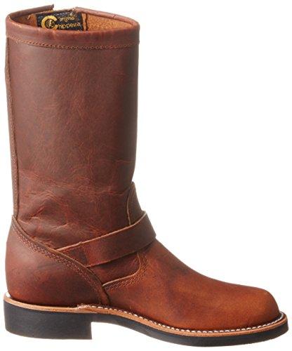 Chippewa Donne 1901w15 Stivali Di Pelle Marrone Chiaro