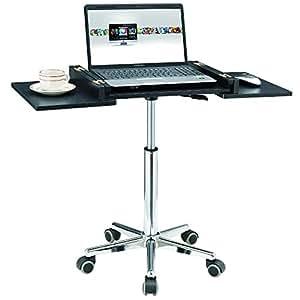 Mesa para ordenador portátil negro