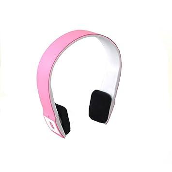 Dayiss ® rosa 2.4G bluetooth estéreo de auriculares inalámbricos llevada sin cable deporte-auriculares