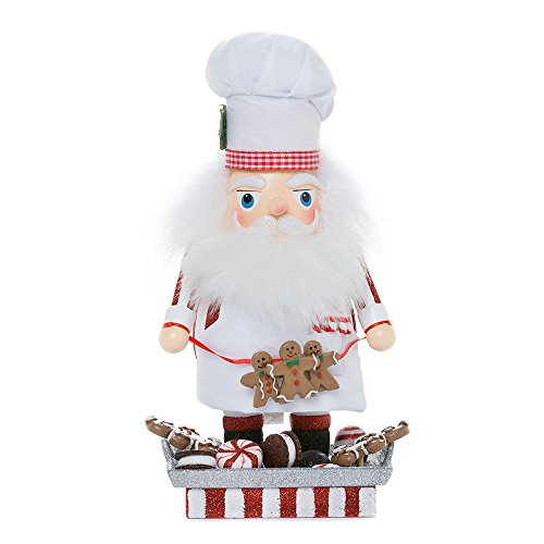 Santa Gingerbread Chef Nutcracker, 12-Inch (12 Nutcracker)