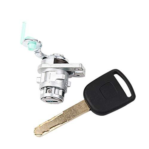 Loria Left Driver Car Door Key Lock Cylinder Barrel Assembly with Key for Honda Accord 2003-2007 Car Parts