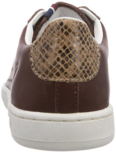 Le Coq Sportif Arthur Ashe Int Low Lea Py - Zapatillas Unisex adulto Tan Brown