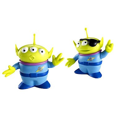 Disney / Pixar Toy Story Operation Escape Posable Action Figure 2Pack Alien TwoEyed Alien