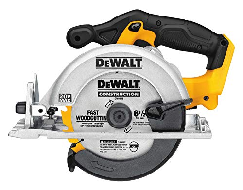 Dewalt DCS393 bare tool 20V MAX 6 1/2' circular saw in bulk packaging