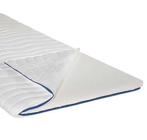 Abeil Matratze mit Memory-Schaum, Weiß, weiß, 140 x 200 cm