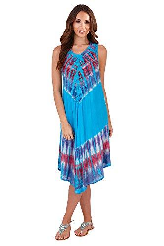 Pistachio - Vestito - Maniche lunghe - Donna Blue/Purple