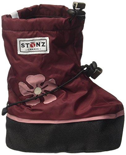 Stonz bhib185-xl Hibiscus–Burgundy Booties Hibiscus