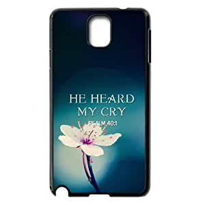 bible verse Case For Samsung Galaxy Note 3 Black Nuktoe620732