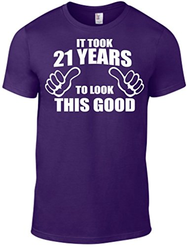 Novelty Gifts Herren T-Shirt, Logo violett violett