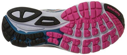 8 Da Women's Corsa Scarpe Ride Citron Deepwater Pink Saucony qwIARR