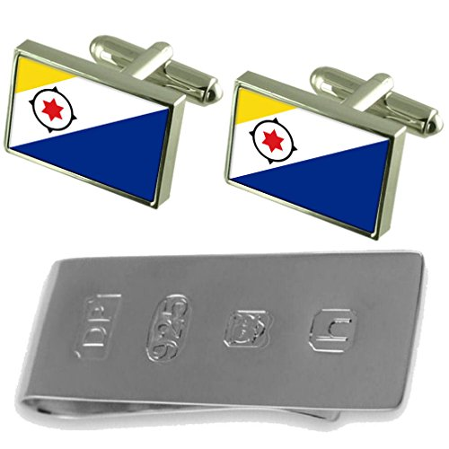 Cufflinks Bonaire Money Bond amp; Bonaire Flag James Clip Flag wtnHZ5qF