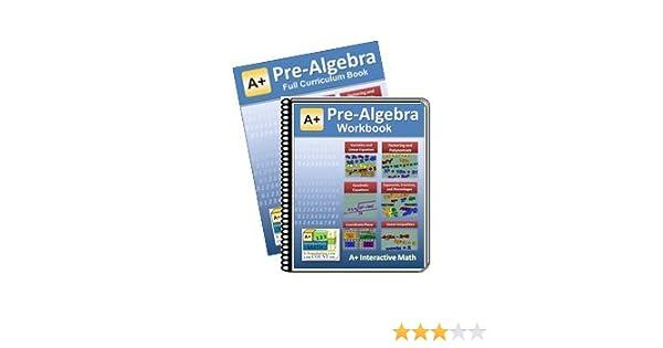 Curriculum Bundle - Pre-Algebra (7th or 8th Grade) Math Textbook ...