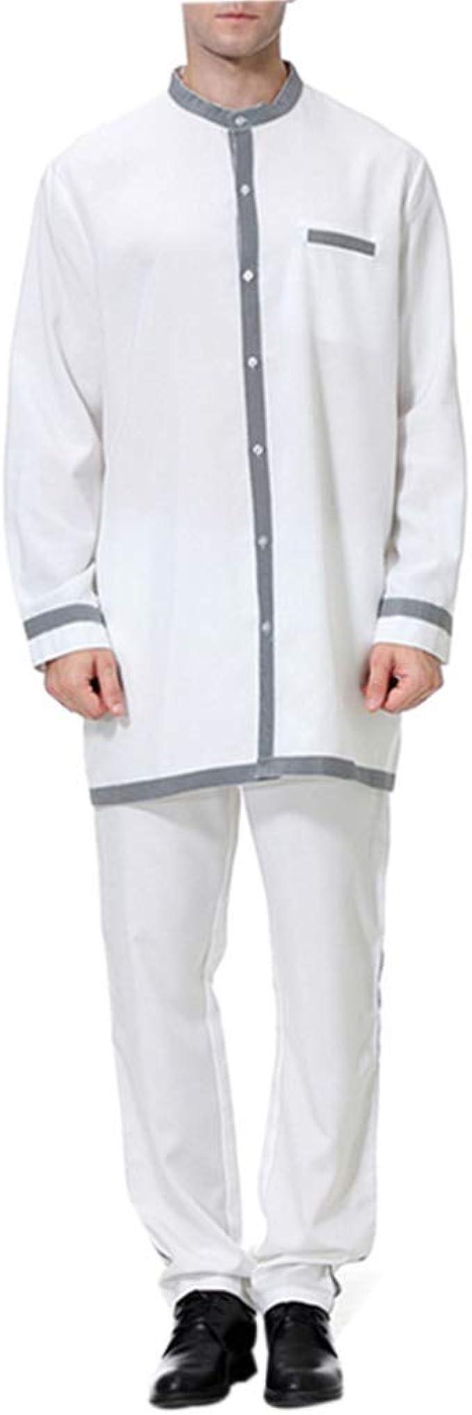 Ropa Musulmán Vestido Abaya Hombre - Arabia Saudita Camisas Arabes Islamica Mango Maxi Vestidos Larga