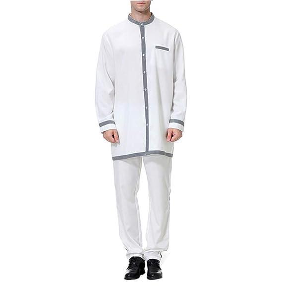 official photos 72805 fb06a KRUIHAN Abbigliamento Maschile Musulmano Vestiti Elegante ...
