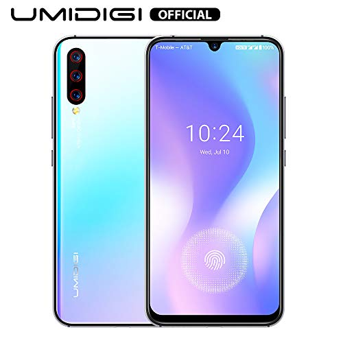 UMIDIGI X Smartphone ohne vertrag günstig mit Fingerabdrucksensor im Display, NFC, 4150mAh Akku, 128GB Speicher, 6.35…