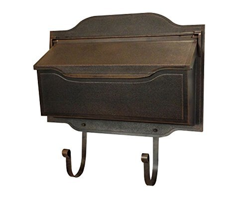 Special Lite Products SHC-1002-CP Contemporary Horizontal Mailbox, Copper