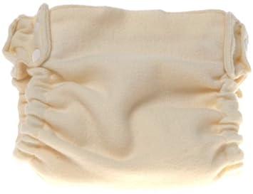 Reversible y reutilizable pañal Shell, Lana Natural