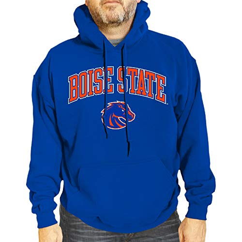 Campus Colors NCAA Adult Arch /& Logo Gameday Hooded Sweatshirt