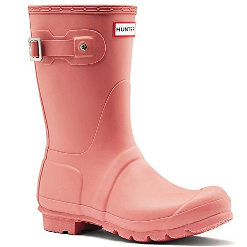 Jägare Kvinna Ursprungliga Korta Rosa Syntetiska Boots 8 Oss