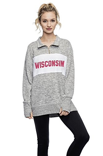 Used, Elite Fan Shop Wisconsin Badgers Women's Quarter Zip for sale  Delivered anywhere in USA