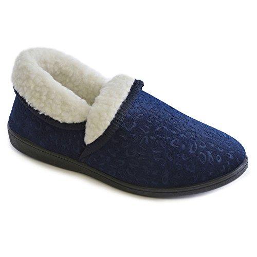 Navy Slumberz Blu blu Pantofole Donna PrqnzUIr6