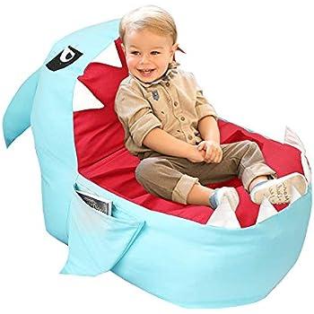Amazon Com Heritage Kids Bean Bag Chair Fox Kitchen