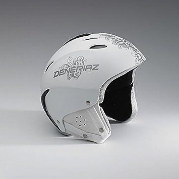 Deneriaz Twister Skiing Helmet, White 60 cm: Amazon co uk: Sports