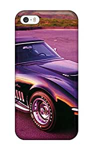 GoldenArea Scratch-free Phone Case For Iphone 5/5s- Retail Packaging - Classic Muscle Cars