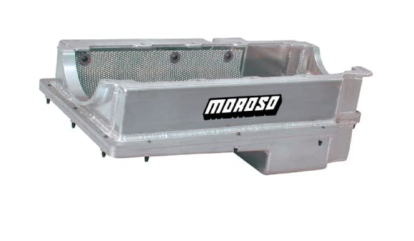 Moroso 20376 Wet Sump Oil Pan for Chevy Big-Block Engine 2 Piece