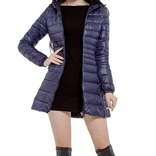 Womens Winter Plus Size Down Jackets Duseedik Keep Warm Overcoat Thin Down Jacket Outwear Trench Coat Cardigan ()