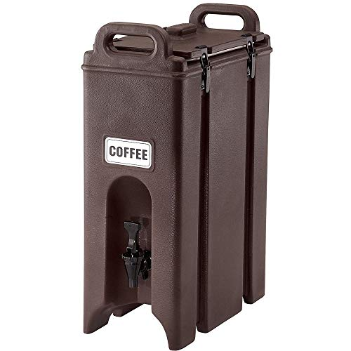 Cambro (500LCD131) 4-3/4 gal Beverage Carrier - - Camtainer Brown